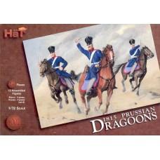 HaT 1/72 Набор солдат: Прусские драгуны, 1815, Napoleonic Wars. № 8002