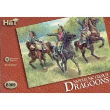 HaT 1/72 Набор солдат: Французские драгуны, Napoleonic Wars. № 8009