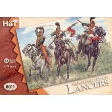 HaT 1/72 Набор солдат: Французские лансьеры, Napoleonic Wars. № 8011