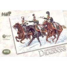 HaT 1/72 Набор солдат: Русские драгуны, Napoleonic Wars. № 8012