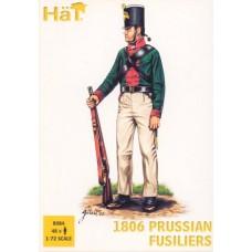 HaT 1/72 Набор солдат: Прусские фузилёры, Napoleonic Wars. № 8084