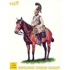 HaT 1/72 Набор солдат: Шведская кавалерия, Napoleonic Wars. № 8178