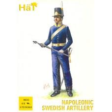 HaT 1/72 Набор солдат: Шведская артиллерия, Napoleonic Wars. № 8231