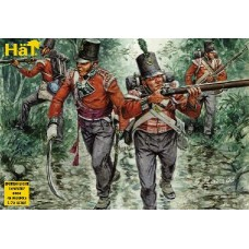 HaT 1/72 Набор солдат: Британская Лёгкая Пехота, Napoleonic Wars. № 8036