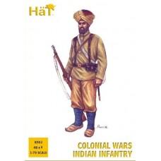 HaT 1/72 Набор солдат: Индийская пехота Колониальных войск. № 8203