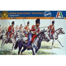 "Italeri 1/72 Набор солдат: Британская тяжёлая кавалерия ""Scot Greys"", Napoleonic Wars. № 6001"
