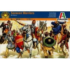 Italeri 1/72 Набор солдат: Сарацины, XI век. № 6010