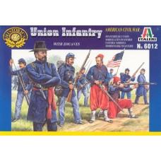 Italeri 1/72 Набор солдат: Пехота Союза, Гражданская война в США. № 6012