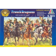 Italeri 1/72 Набор солдат: Французские драгуны, Napoleonic Wars. №  6015