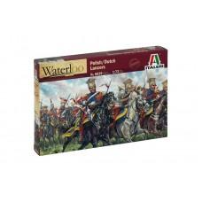 Italeri 1/72 Набор солдат: Польские/голландские уланы, Waterloo, Napoleonic Wars. № 6039