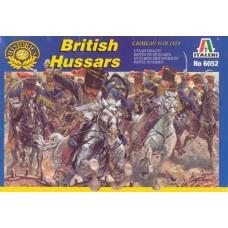 Italeri 1/72 Набор солдат: Британские гусары, Крымская Война 1854 год. № 6052