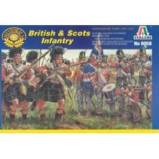 Italeri 1/72 Набор солдат: Британская и Шотландская Пехота, Napoleonic Wars. № 6058