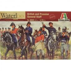 Italeri 1/72 Набор солдат: Британский и Прусский штаб, Napoleonic Wars. № 6065