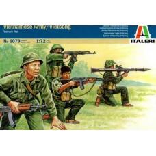 Italeri 1/72 Набор солдат: Вьетконг (Война во Вьетнаме). № 6079