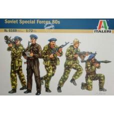 Italeri 1/72 Набор солдат: Советский спецназ (80-е годы XX века). № 6169