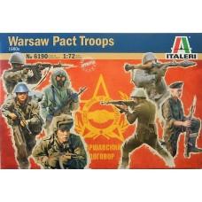 Italeri 1/72 Набор солдат: Войска Варшавского договора, 1980. № 6190