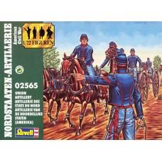 Revell 1/72 Набор солдат: Артиллерия Союза (Гражданская война в США). № 02565