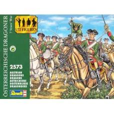 Revell 1/72 Набор солдат: Австрийские драгуны (7 Years War). № REV_02573