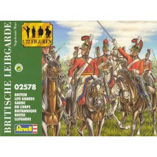"Revell 1/72 Набор солдат: Британская кавалерия ""Life Guards"" (Napoleonic War). № 02578"