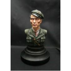 Trizub-miniature 1/9 (200 mm.) Воїн Української Повстанчої  Армії, Пофарбований. № 0001P