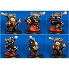 """Legendarion miniatures 35 мм Коротышка Horus Lupercal """"Chibi Primarch"""". № CH06"""