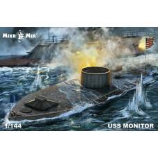 "MikroMir 1:144 Броненосец США (Северян) USS ""Monitor"". № 144-028"