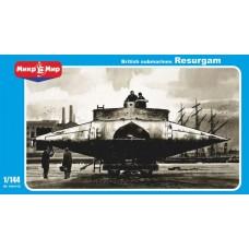 MikroMir 1/144 Британская подводная лодка «Resurgam II». № 144-012