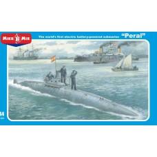 MikroMir 1/144 Испанская подводная лодка Пераль («Peral»). № 144-021