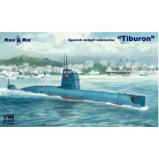 MikroMir 1/144 Испанская сверхмалая подводная лодка  «Tiburon». № 144-022