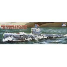 Trumpeter 1/144 Дизель-электрическая подводная лодка класса «Ромео» Проект 633 (ВМС Китая, СССР). № 05901