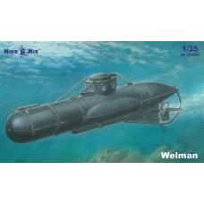 MikroMir 1:35 Британская подводная лодка-малютка Welman (W10). № 35-022
