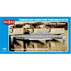 MikroMir 1/35 Немецкий торпедный катер проекта Schertel-Sachsenberg. № MIR_35-011