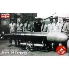 MikroMir 1/35 Американские торпеды Mark 14 (2 торпеды в комплекте). № 35-018