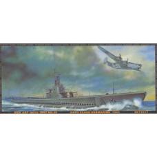 AFV Club 1/350 Американская подводная лодка US Gato Class 1943. № AFV_SE73511