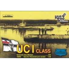 Combrig Models 1/350 Германская подводная лодка SM UC-1 минный заградитель (Full Hull version). № 3580FH