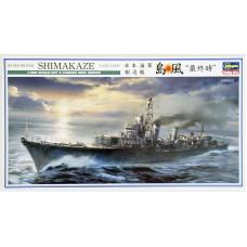 Hasegawa 1/350 Японский эсминец «Shimakaze» Late Type. № 40029