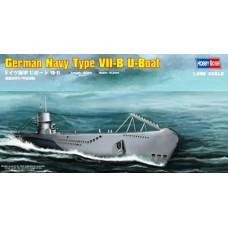 Hobby Boss 1/350 Немецкая подводная лодка Type VII-B U-Boat. № 83504