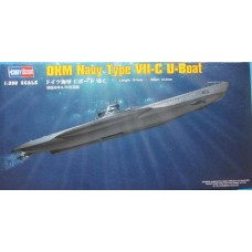 Hobby Boss 1:350 Немецкая подводная лодка U-Boot Type VIIc. № 83505