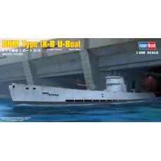 Hobby Boss 1/350 Немецкая подводная лодка U-Boot Type IX-B. № 83507