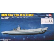 Hobby Boss 1/350 Немецкая подводная лодка U-Boot Type IX-C. № 83508