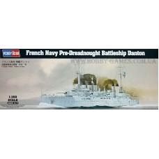 Hobby Boss 1/350 Французский эскадренный броненосец «Danton». № 86503