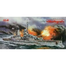 ICM 1/350 Германский линкор «Markgraf», Первая мировая война. № S.005
