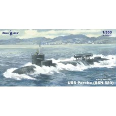 MikroMir 1:350 Американская подводная лодка USS Parche (SSN-683). № 350-037