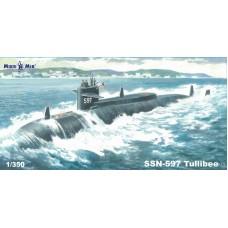 MikroMir 1/350 Американская атомная подводная лодка SSN-597 Tullibee. № 350-041