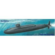 MikroMir 1/350 Американская атомная подводная лодка SSBN-608 Ethan Allen («Этэн Аллен»). № 350-042