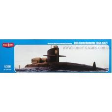 MikroMir 1/350 Американская атомная подводная лодка специальных операций SSN-642 «Kamehameha». № 350-029