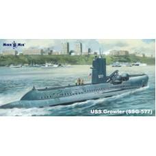 MikroMir 1/350 Американская дизель-электрическая подводная лодка SSG-577 USS «Growler». № 350-038