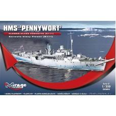 Mirage Hobby 1/350 Британский корабль HMS «Pennywort» Flower Class Corvette (K111). № 350804