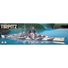 Tamiya 1/350 Немецкий линкор «Tirpitz». № 78015