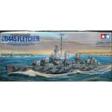 Tamiya 1/350 Американский эсминец USS «Fletcher» DD-445. № TAM_78012